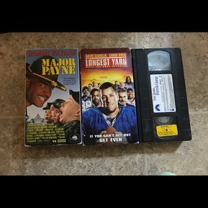 3 Comedy VHS Tapes